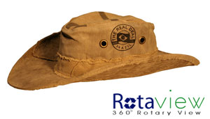 Real Deal Brazil Amazon Tarp Hat Product Review - The Greenest Dollar fe166a6470f