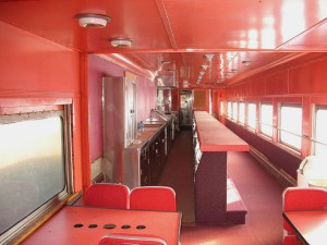 Dining Car for sale at Ozark Mountain Rail Car.