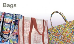 Some of Terracycle's bags